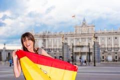 Turist i Spanien Fotografering för Bildbyråer
