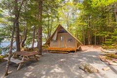 Turist- kabin Royaltyfria Bilder