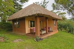 Turist- kabin i Afrika Royaltyfria Bilder