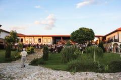 Turist- komplex Chateau Rubaiyat, Bulgarien Arkivfoto
