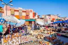 Turist- marknad, Marrakech Fotografering för Bildbyråer