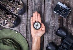 Turist- material Arkivfoto