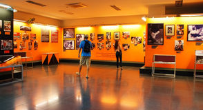 Turist- museum för besökvietnamkrigetkvarleva Royaltyfria Bilder