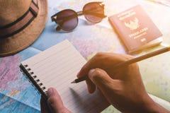 Turist- plan arkivfoton