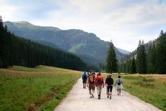 turist- trail arkivbilder