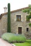 turist- tuscany för folkmassahussight villa Royaltyfria Foton