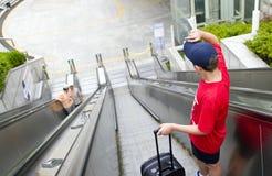 Turista adolescente Fotos de archivo libres de regalías