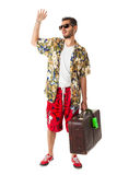 Turista annoiato Immagine Stock Libera da Diritti