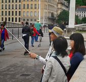 Turista asiático Imagen de archivo