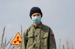 Turista atomico Fotografia Stock Libera da Diritti