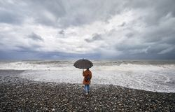 Turista a Batumi immagini stock libere da diritti