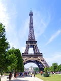Turista da torre Eiffel Imagens de Stock
