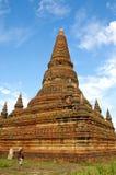 Turista de Bagan Fotografía de archivo libre de regalías