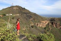 Turista de Gran Canaria foto de stock royalty free