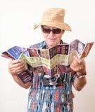 Turista de Las Vegas Fotos de archivo