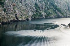 Turista del catamarano nei sacri di Ribeira Fotografie Stock