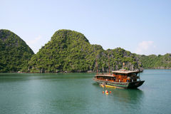 Turista del Vietnam Immagine Stock