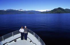 Turista della barca Immagini Stock