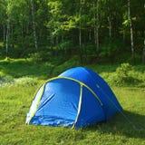 turista della tenda Immagini Stock Libere da Diritti