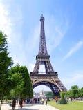 Turista della torre Eiffel immagini stock
