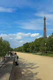 Turista em Paris Foto de Stock Royalty Free