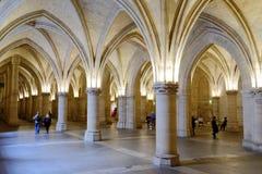 Turista en Conciergerie, París, Francia Fotos de archivo