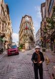 Turista en Estambul Imagen de archivo libre de regalías