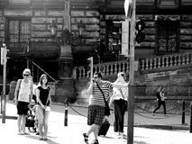 Turista en Europa Fotos de archivo