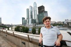 Turista en Moscú fotografía de archivo libre de regalías