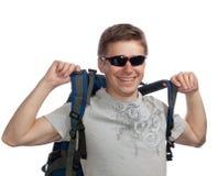 Turista joven Imagen de archivo libre de regalías