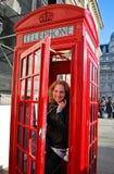 Turista a Londra Fotografia Stock