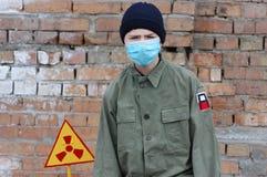 Turista nuclear Fotos de archivo libres de regalías