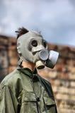 Turista nuclear Foto de archivo libre de regalías