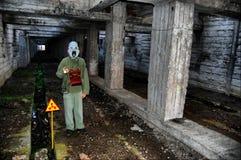 Turista nuclear Imagen de archivo libre de regalías