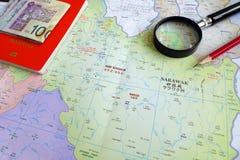 Turista senior nel concetto del Borneo Malesia Fotografia Stock