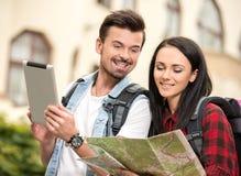 turistas Imagens de Stock Royalty Free