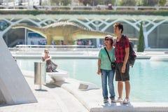 Turistas asiáticos Fotografía de archivo libre de regalías