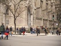 Turistas del St. Patrick Imágenes de archivo libres de regalías