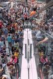Turistas do Times Square Fotos de Stock