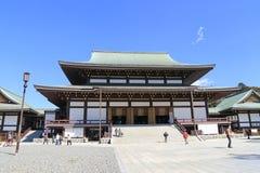 Turistas e passeio japonês no grou do templo de Naritasan Shinshoji Fotografia de Stock Royalty Free