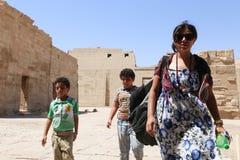 Turistas em Egito foto de stock royalty free