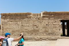Turistas em Egito imagens de stock royalty free