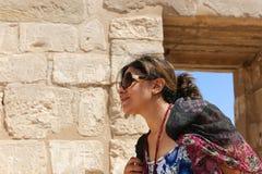 Turistas em Egito fotografia de stock