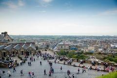 Turistas em Escócia fotos de stock