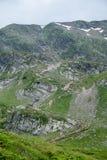 Turistas em montanhas do verão Fotos de Stock