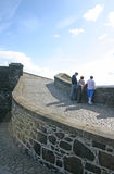 Turistas en el castillo de Stirling en Escocia fotos de archivo libres de regalías
