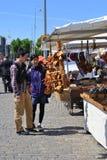 Turistas en Finlandia Fotos de archivo libres de regalías