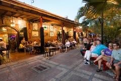 Turistas en Key West imagenes de archivo