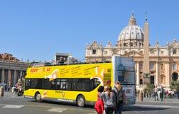 Turistas en Roma Foto de archivo