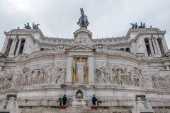 Turistas en Roma, Italia Foto de archivo libre de regalías